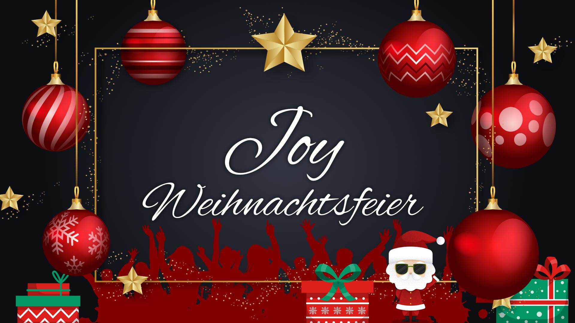 Joy Weihnachten