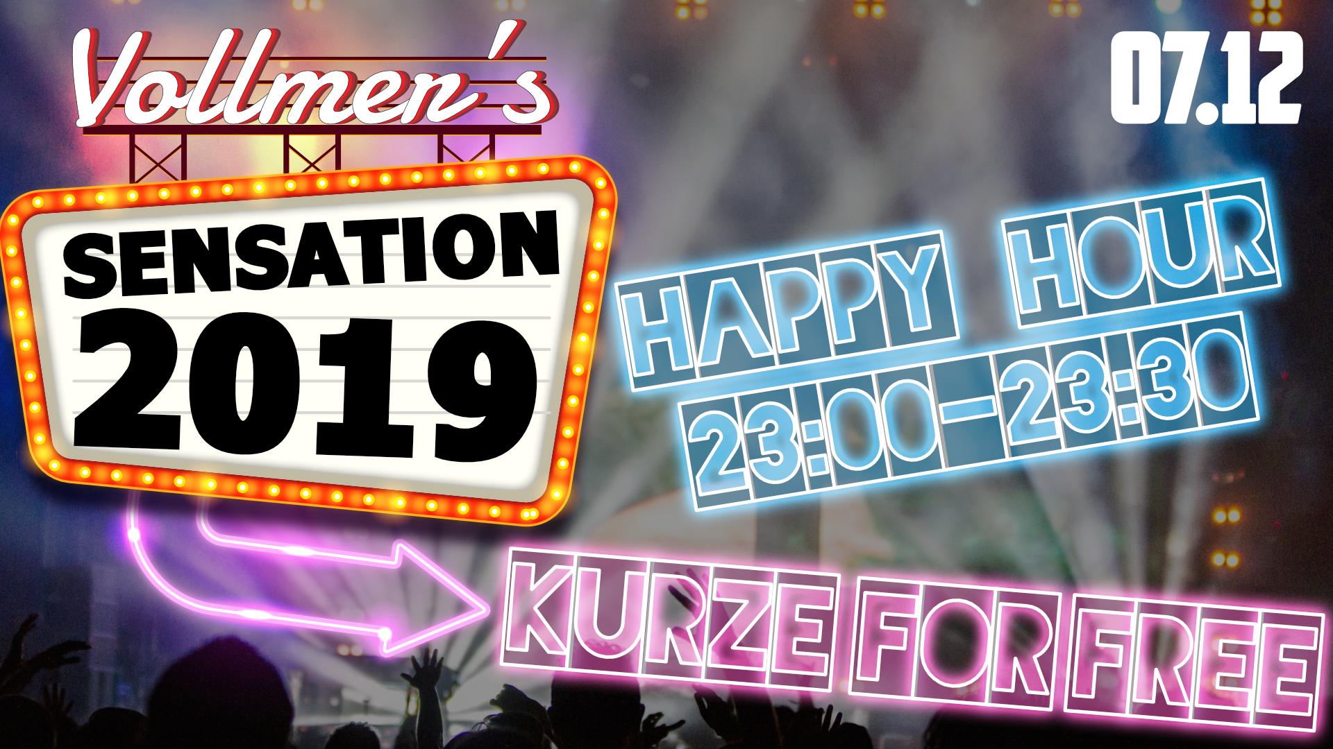 Vollmer's Sensation - 2019